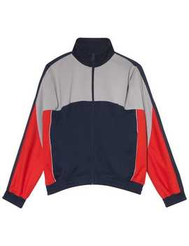 Red And Blue X Martine Rose Track Jacket by Nike