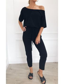 Tally Slouchy Jumpsuit   Black by Pretty Lavish