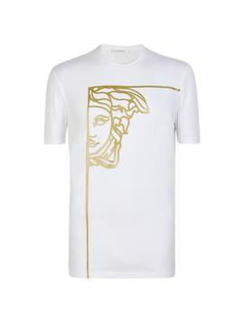 Glitter Medusa T Shirt by Versace Collection
