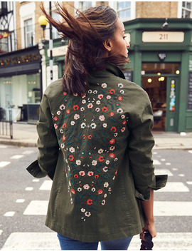 Ruby Embroidered Jacket by Boden