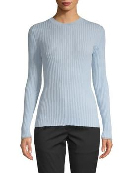 Long Sleeve Crewneck Sweater by Proenza Schouler