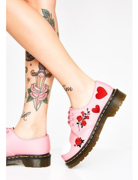 1461 Hearts Oxfords by Dr Martens