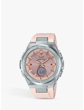 Casio Msg S200 G 4 Er Women's Baby G Resin Strap Watch, Rose Gold by Casio