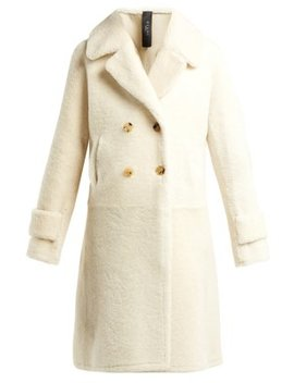 Martina Shearling Coat by Giani Firenze