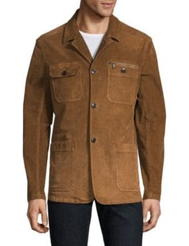 Garment Dye Long Sleeve Corduroy Jacket by John Varvatos Star U.S.A.