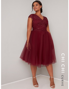 Chi Chi Curve Joey Dress by Chi Chi London