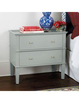 Grace 2 Drawer Side Table by Ballard Designs