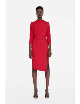 Draped Dress  View All Dresses Woman New Collection by Zara