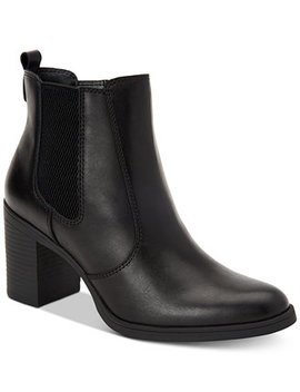 Korma Memory Foam Ankle Booties, Created For Macy's by Giani Bernini