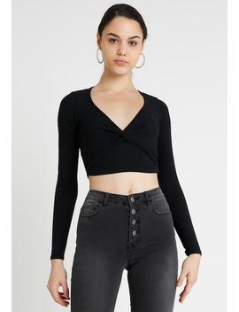 Go Carley Crop   Langarmshirt by New Look