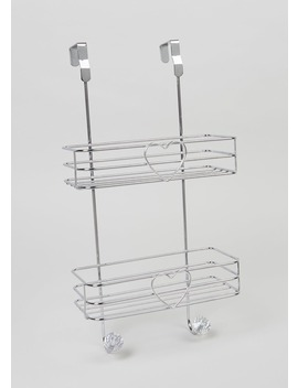 Shower Wire Caddy Rack (49cm X 25cm) by Matalan