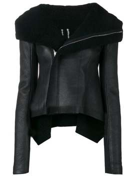 Shearling Biker Jacket by Rick Owens