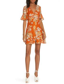 Floral Silk Minidress by Nicholas