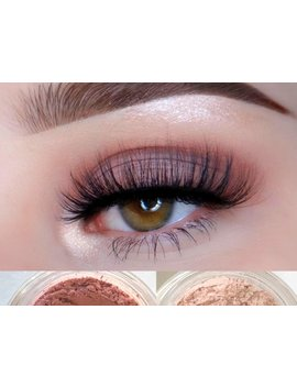 Allure Mineral Eyeshadow Duo  Get This Look! All Natural, Vegan Eyeshadow And Eyeliner Makeup by Etsy