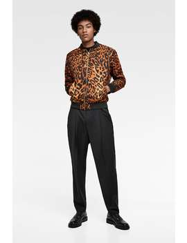 Animal Print Jacket  View All Jackets Man Sale by Zara