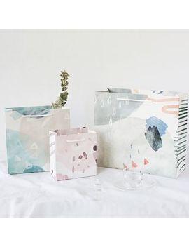 Cute Essentials   Watercolor Paper Bag by Cute Essentials