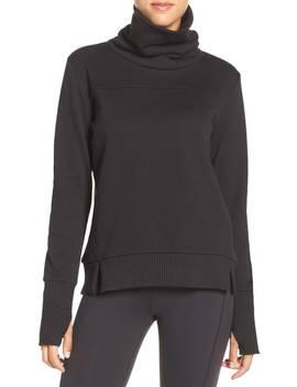 'haze' Funnel Neck Sweatshirt by Alo