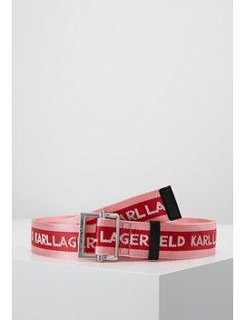 Logo Webbing Belt   Riem by Karl Lagerfeld
