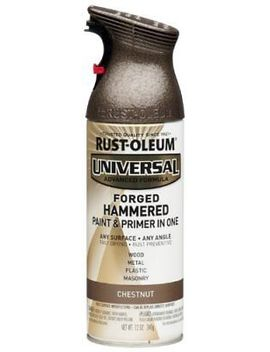 Rust Oleum Universal All Surface Spray Paint, 12 Oz, Forged Hammered Chestnut by Ebay Seller