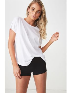 Fitted Mini Shorts by Cotton On