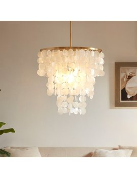 Madison Park Signature Isla White Chandelier by Madison Park Signature