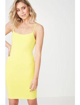Square Neck Mini Dress by Cotton On