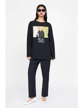 The Devil Wears Prada © 2019 Sweatshirt  Sweatshirtswoman New Collection by Zara