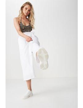 V Halter Bodysuit by Cotton On