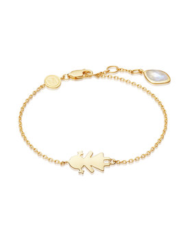 Gold Girl Bracelet by Missoma