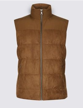 Quilted Gilet With Stormwear™ by Marks & Spencer
