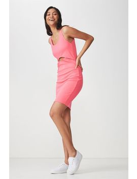 Milly Cut Out Bodycon Mini Dress by Cotton On