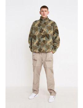 Urban Outfitters – Sweatshirt Aus Borg Fell Mit Stehkragen Und Blattmuster by Urban Outfitters Shoppen
