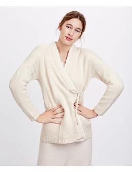 Fluffy Wrap Jacket by Oysho