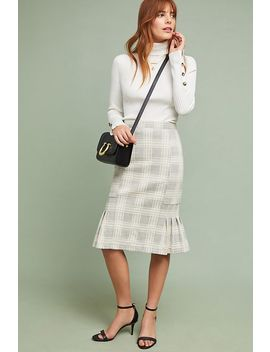 Flounced Menswear Skirt by Current Air