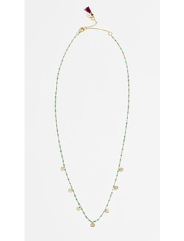 Multi Disc Necklace by Shashi