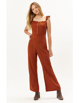 Lucca Couture Madelynn Ruffle Strap Jumpsuit by Pacsun