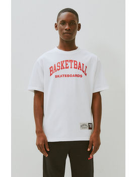 Basketball Skateboards Logo T Shirt by Pacsun