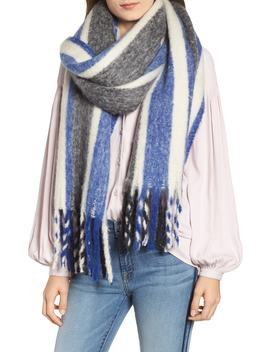 Striped Scarf by Treasure & Bond