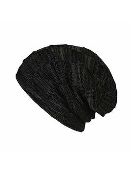Bompow Hats For Women Men Baby Warm Winter Hat Fleece Lined Cosy Knitted Beanie Hat by Bompow
