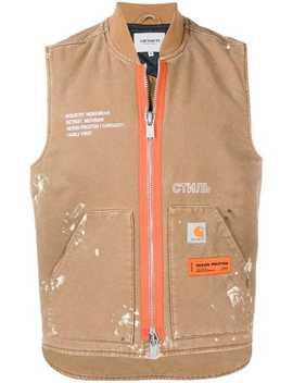 Heron Preston X Carhartt Wip Vest Jacket by Heron Preston