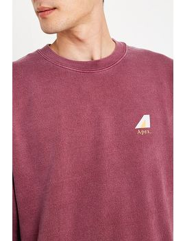 Uo Apex Berry Sweatshirt by Urban Outfitters