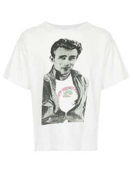 James Dean Print T Shirt by Fake Alpha Vintage