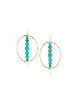 18k Nova Hinge Oval Earrings by Ippolita