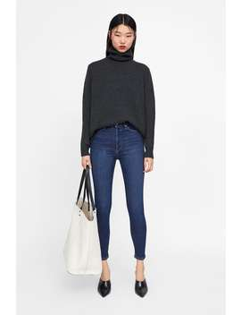 Jeans Zw Premium 80's Deep Blue  Última Semanamulher New Collection by Zara