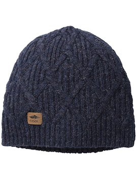 Coal Men's The Yukon Chunky Knit Warm Beanie Hat by Coal