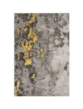 Trent Austin Design Costa Mesa Gray/Yellow Area Rug & Reviews by Trent Austin Design