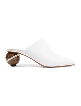 Calanthe Leather Mules by Neous
