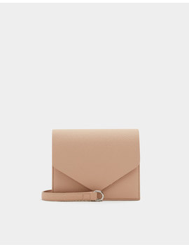 Sac à Bandoulière Basic Nude by Pull & Bear