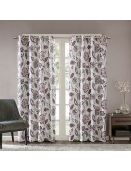 Sun Smart Camille Grommet Top Room Darkening Window Curtain Panel by Bed Bath And Beyond