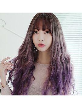 Sevenq   Long Full Wig   Wavy / Set by Sevenq